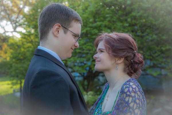 Liz and Alex Junior Prom - May 12, 2018