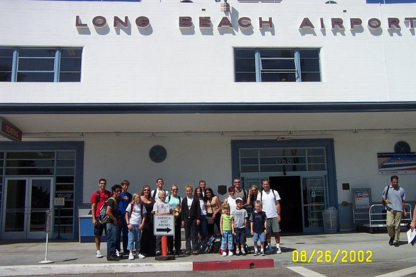 High School Mission Trip 2002