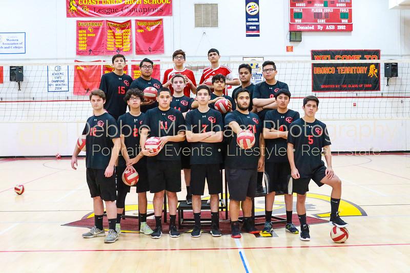 2019 Boys Volleyball