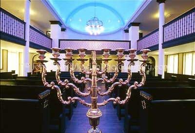 NORWAY, Trondheim. Trondheim Synagogue (the world's second-most northen synagogue). (2006)