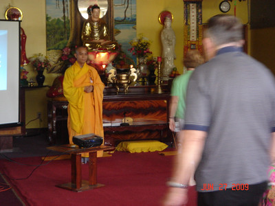 The speech of Buddhist faith and Architecture
