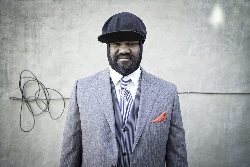 . This undated image released by Universal Music shows Gregory Porter. Porter may be a late bloomer as a recording artist, but the soul-jazz singer isn\'t wasting time picking up Grammy nominations, even though his music doesn\'t fit neatly into any one category. (AP Photo/Universal Music)