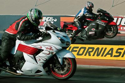 PRO STREET LEGAL FINALS  2007: W/C & Race Action !!