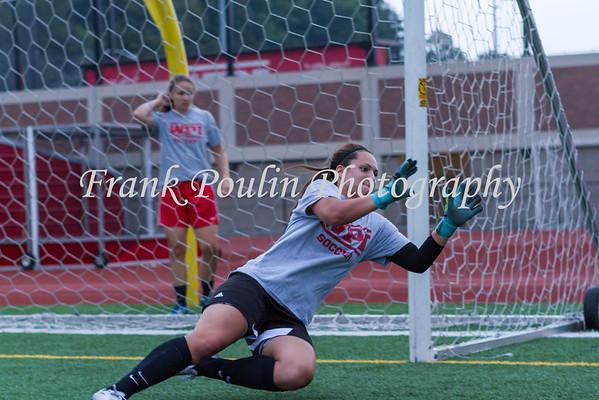 WPI women's soccer 9/3/2015
