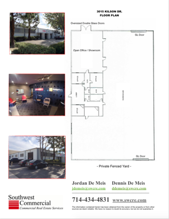 (LEASED) 12,000 square foot Free Standing Building with Yard!