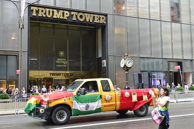 Hispanic Day parade/MOMA Oct. 2017