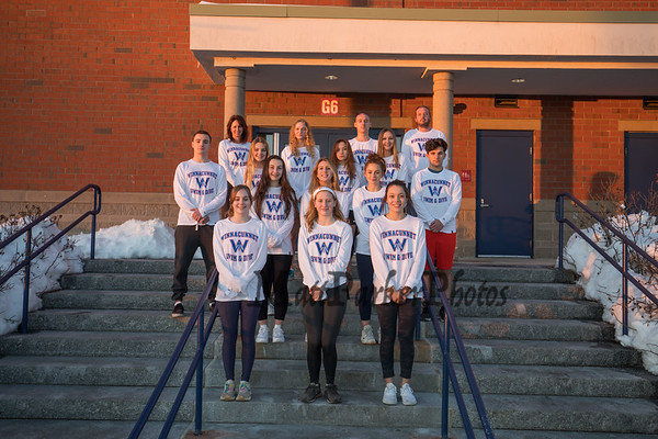 2021-2-8 WHS Swim and Dive Team Photo Shoot