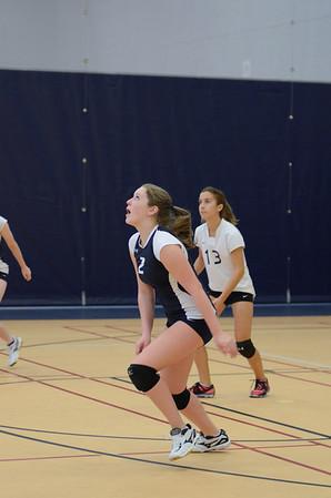 OE Fresh. Girls Volleyball Vs. Waubonsie Valley 2013