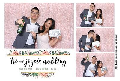 Tri & Joyce's Wedding (LED Dazzle Photo Booth)