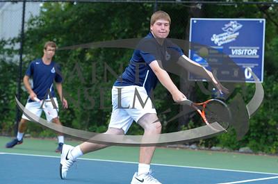 Men's Tennis at SNHU (9/17/14) Courtesy Jim Stankiewicz