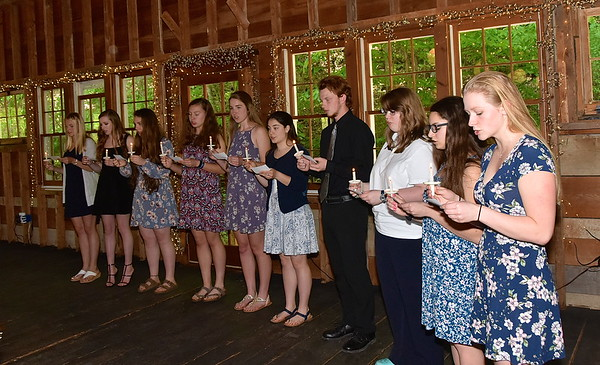 AMHS National Honor Society Induction Ceremony photos by Gary Baker