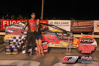 Fonda Speedway 5-22-21 Jann McGaffin