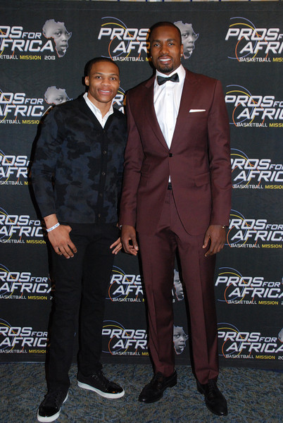 Pros  For Africa Dinner Hosted by Serge Ibaka