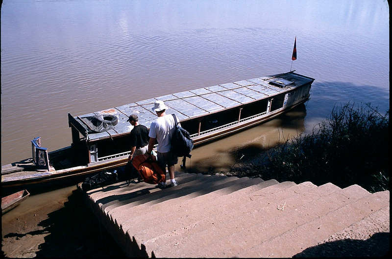 our boat for 7 hour trip down the Mekong River