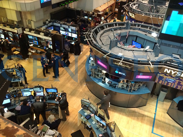 March NYC Externship - NYSE (Photos by Kim Faber)