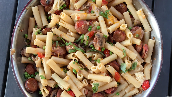 Pasta Skillet with Kielbasa