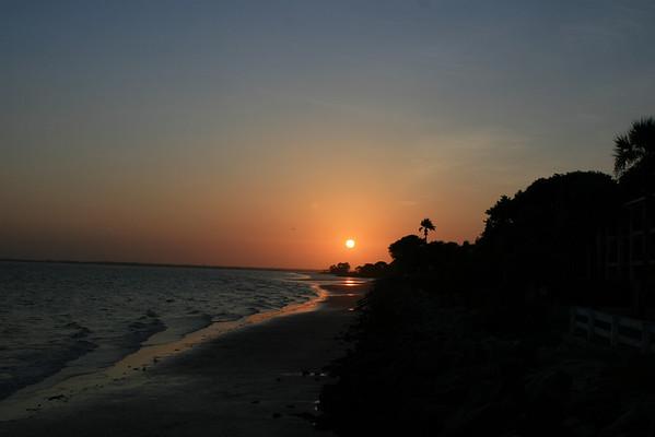 8:5:08 St. Simons Island, GA - Sunsets