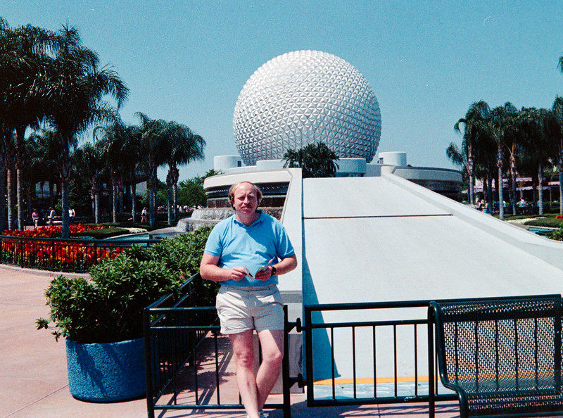 Epcot and Sea World 1988