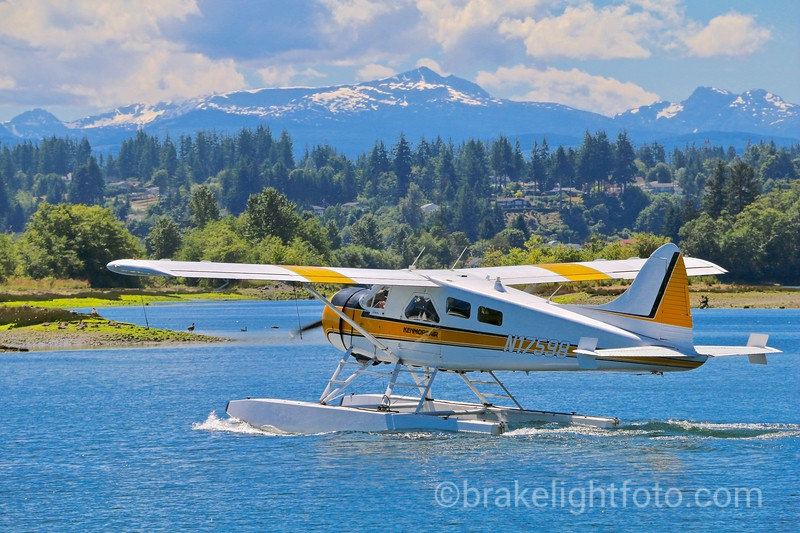 Float Plane at Tyee Spit