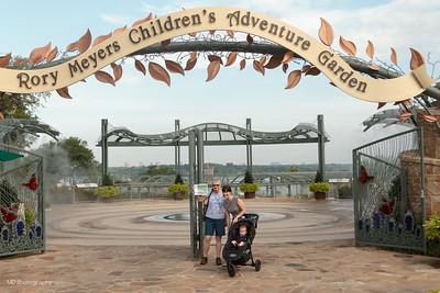 062514 Grady at Children's Garden