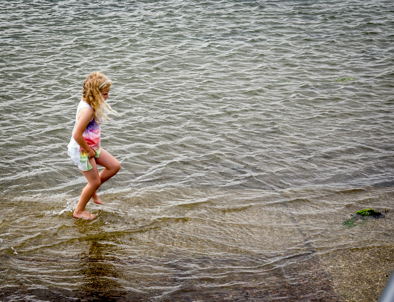 Bosham Harbour - walking on water