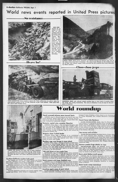 The Trojan, Vol. 35, No. 158, September 01, 1944