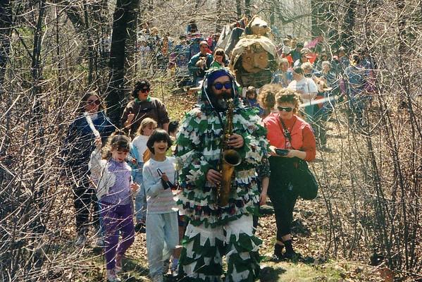 Ninots parade bands