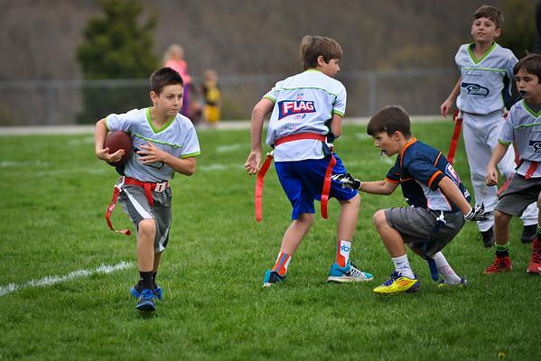 Michael Flag Football Spring 2015