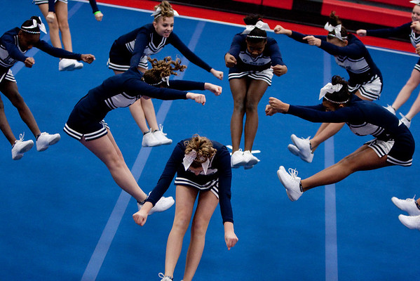 East High Cheer Competition 2010