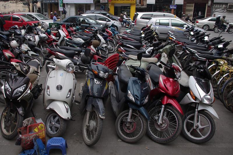 Car park, Hanoi style