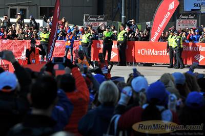 Late Race/Press Conference - 2014 Chicago Marathon