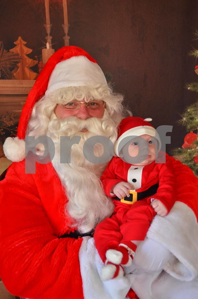 Elizabeth's Grandson Rex's First Christmas Pics.