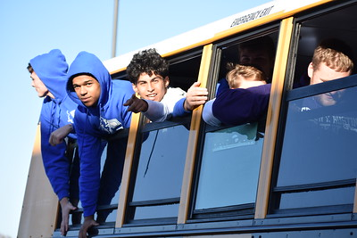 Send Off: Bosqueville Area Playoff Game