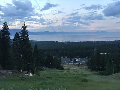 Monument Peak - Tahoe Lake