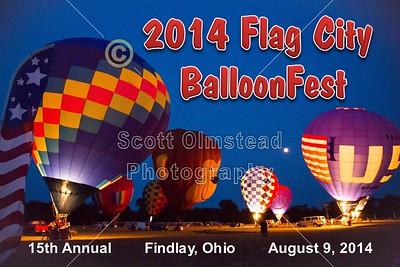 2014 Flag City BalloonFest (08-09-14)