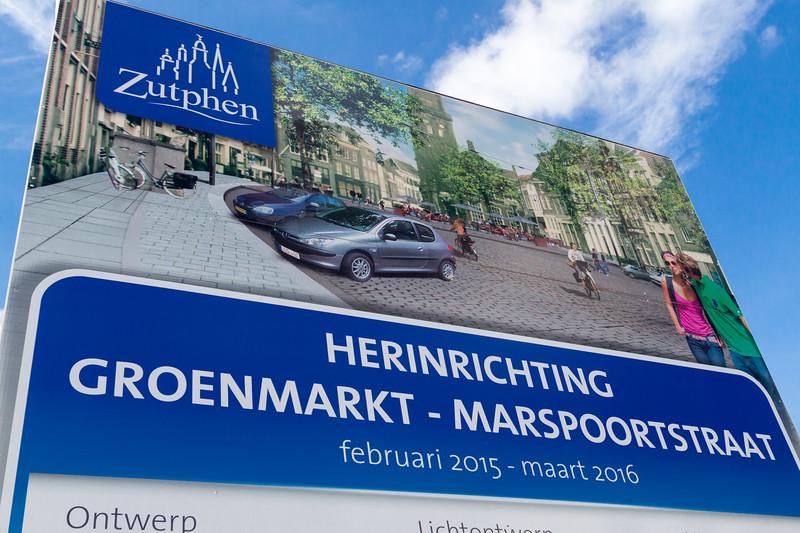 Herinrichting Groenmarkt en Marspoortstraat
