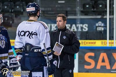 EVZ Training: National League und Swiss League