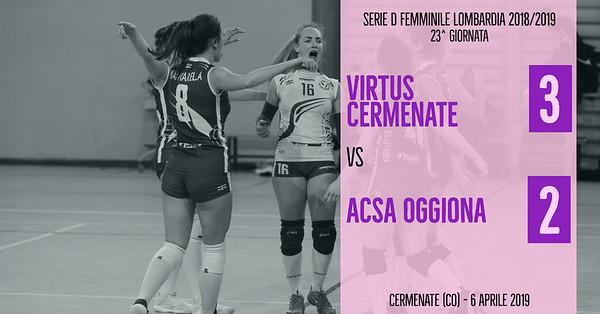 LOM-Df: 23^ Virtus Cermenate - ACSA Oggiona
