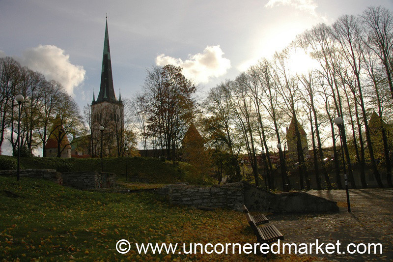 Tallinn's Parks Near Old Town - Estonia