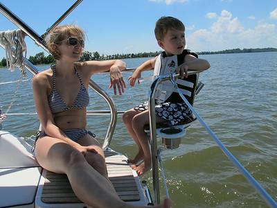 Adams Sail Boat