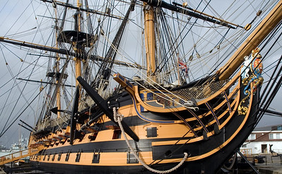 HMS Victory, Portsmouth, 2007