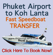 Phuket Airport To Koh Lanta Express Fast Speedboat Transfer