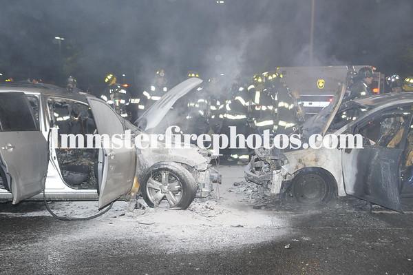 LEVITTOWN FD CAR FIRES 8-20-09