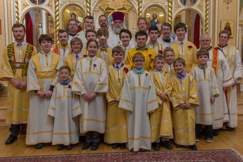 Altar Boys & Communion Assistants