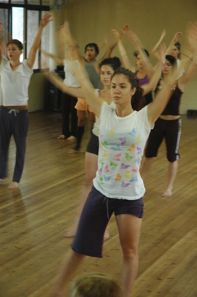 Rehearsal of Danza Contemporanea de Cuba at the Teatro Nacionale - Leslie Rowley