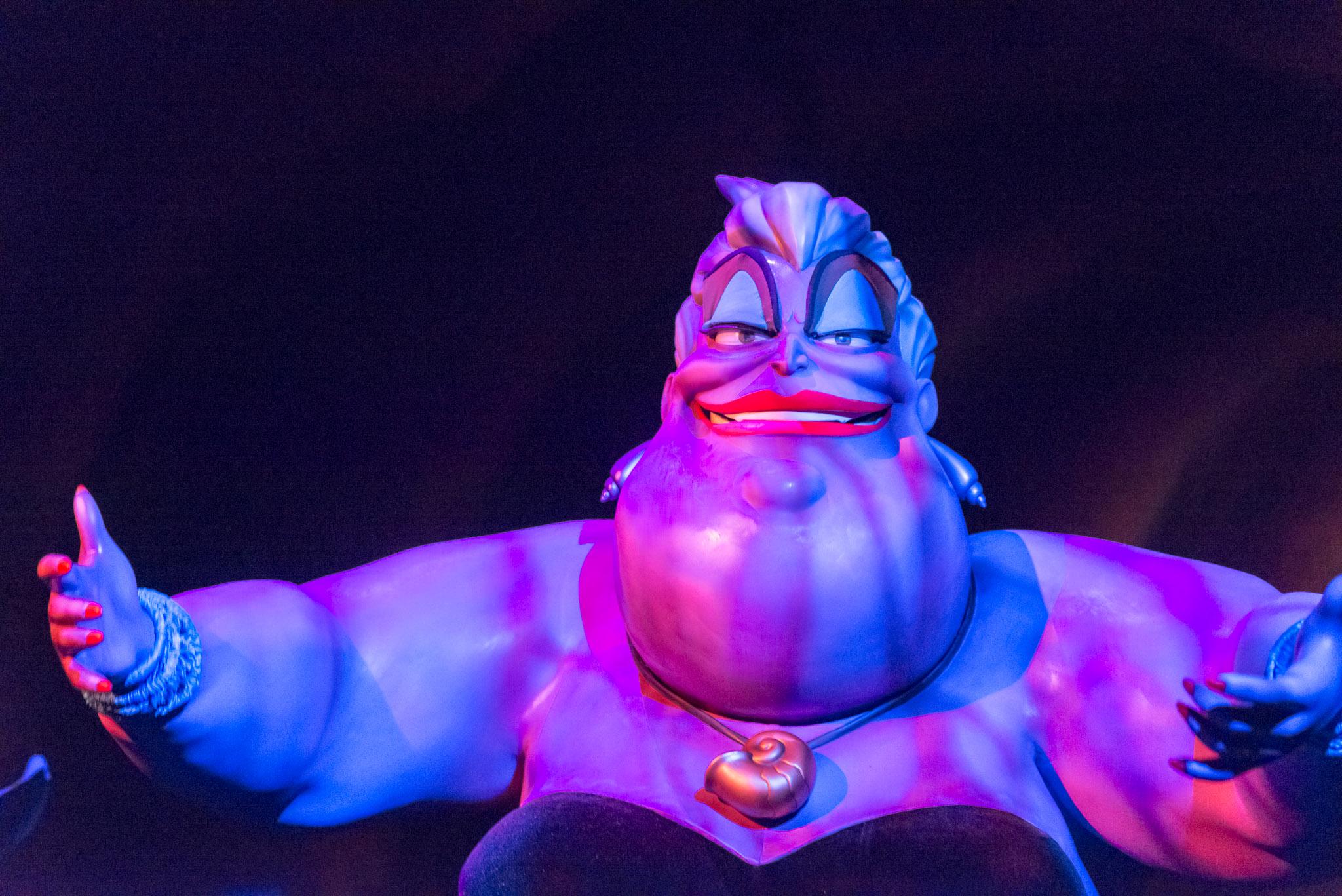 Ursula - Walt Disney World Magic Kingdom