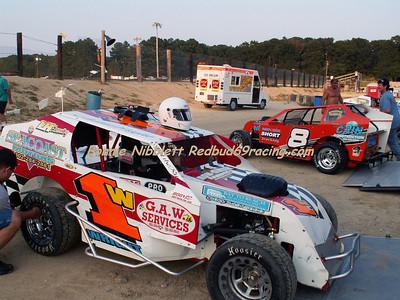 September 7, 2007 Delmarva Motorsports Park Redbud's Pit Shots