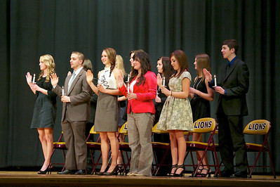 2013 New Brighton HS National Honor Society Induction Ceremony