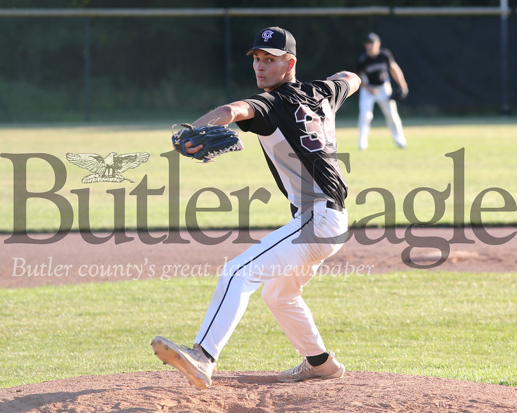 Cranberry starting pitcher vs Butler Tuesday. Seb Foltz/Butler Eagle