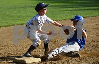 Stafford LL Majors Championship Dodgers vs. Yankees 061915